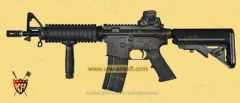 COLT M4 CQB-R Gas Blowback Rifle by King Arms